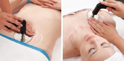 芯から体を温めて汗を出すデトックスコースのイメージ